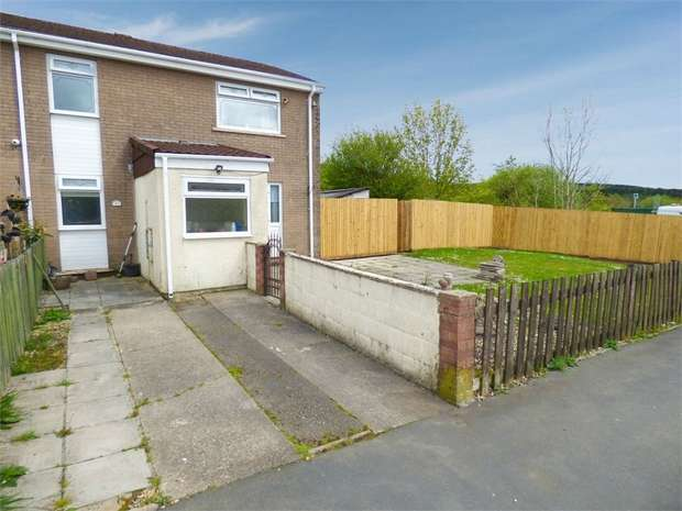 3 Bedrooms End Of Terrace House for sale in Chartist Way, Tredegar, Blaenau Gwent