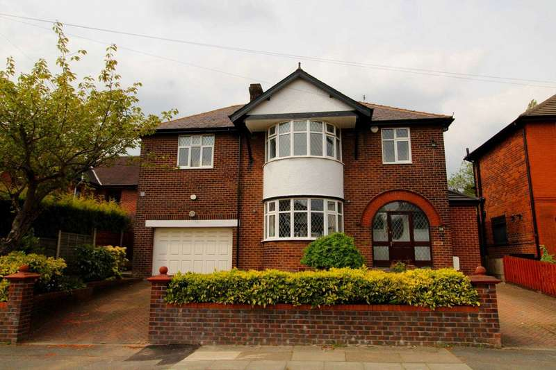 5 Bedrooms Detached House for sale in Castle Hill Road, Prestwich
