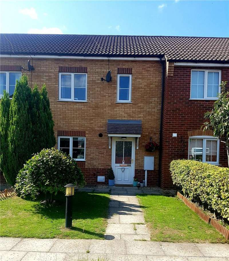 2 Bedrooms Terraced House for sale in Honeysuckle Way, Spalding, Lincolnshire, PE11