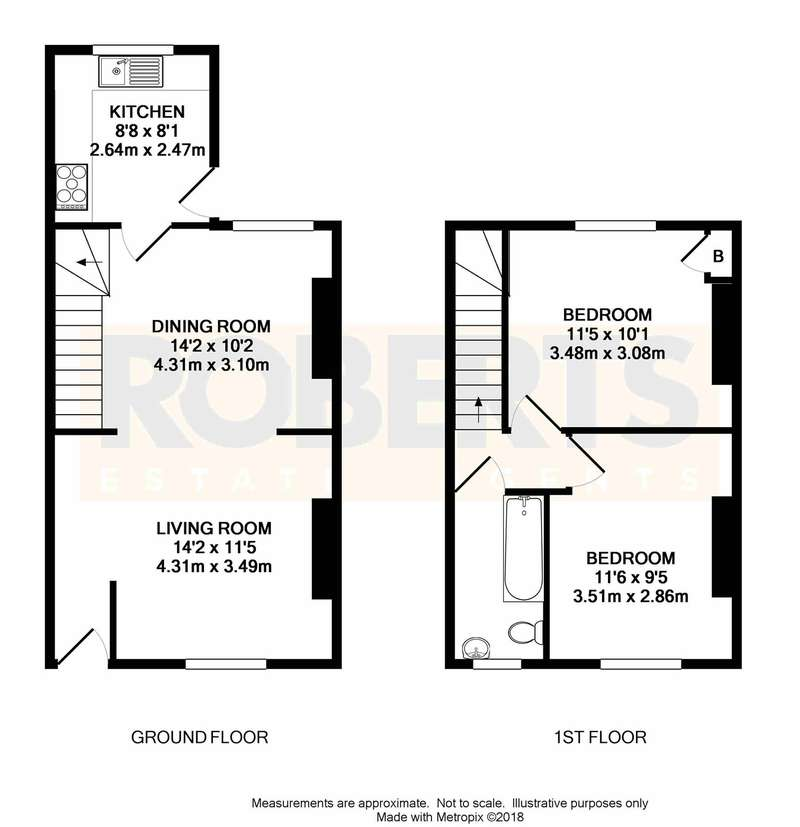 2 Bedrooms Terraced House for sale in Feering Street, Newport, NP19
