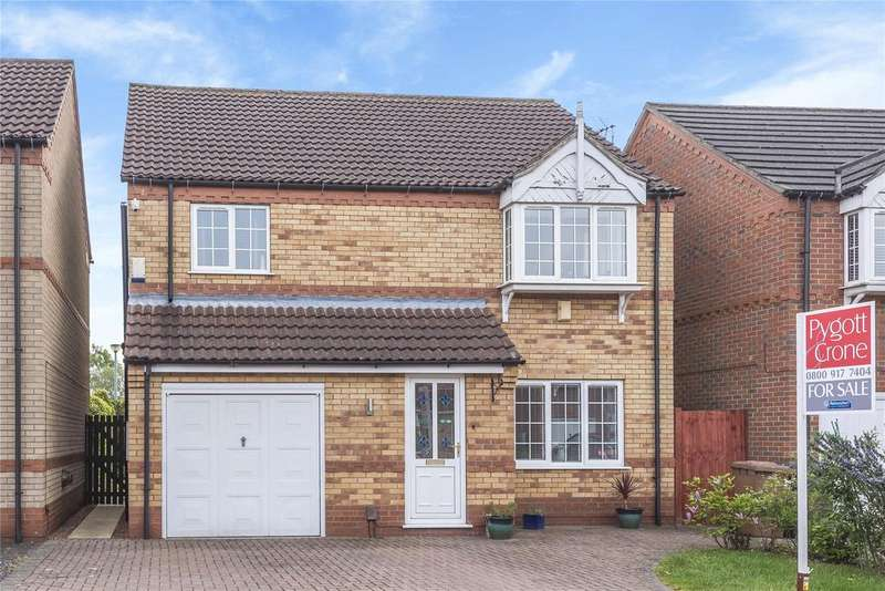 3 Bedrooms Detached House for sale in Mallory Close, Doddington Park, LN6
