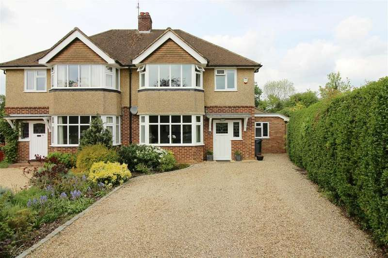 3 Bedrooms Semi Detached House for sale in Balmore Drive, Caversham, Reading
