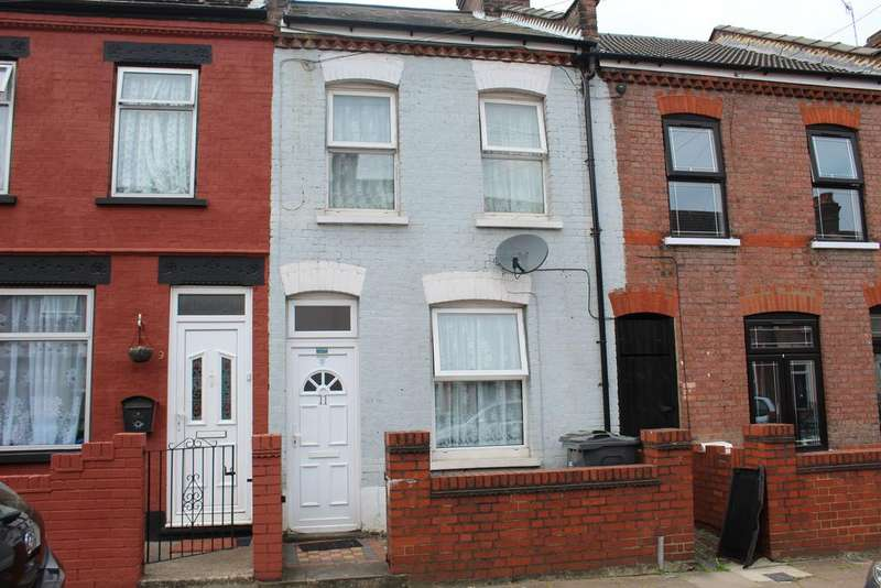 2 Bedrooms End Of Terrace House for sale in Shirley Road, Luton LU1