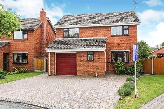 4 Bedrooms Detached House for sale in Oakfield Avenue, Wrenbury, Nantwich
