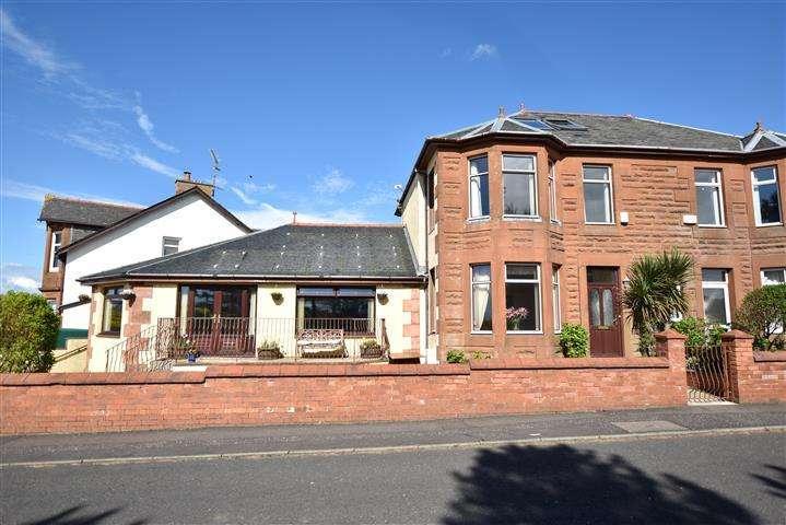 4 Bedrooms Semi-detached Villa House for sale in 65 St Ninians Road, Prestwick, KA9 1SL