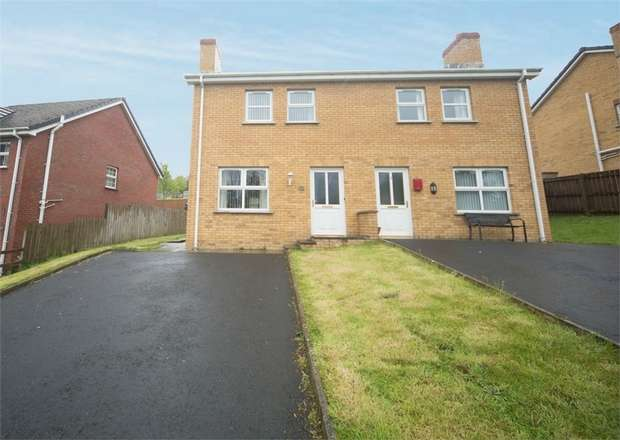 3 Bedrooms Semi Detached House for sale in Oak Lodge, Banbridge, County Down