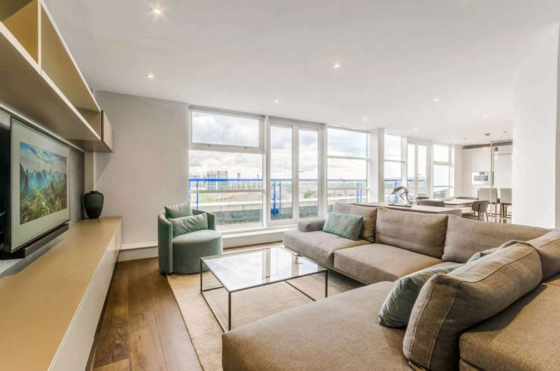 2 Bedrooms Flat for sale in Apollo Building, Canary Wharf, E14