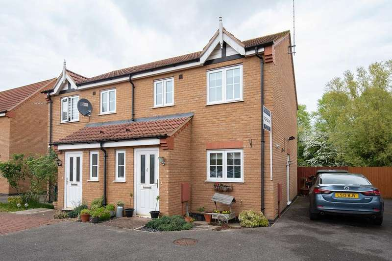 3 Bedrooms Semi Detached House for sale in Lewis Court, Spalding, PE11