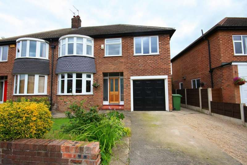 4 Bedrooms Semi Detached House for sale in Coniston Drive, Handforth