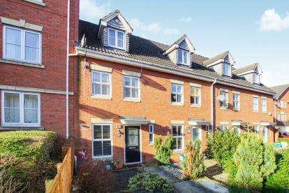 3 Bedrooms Terraced House for sale in Julius Close, Emersons Green, Bristol