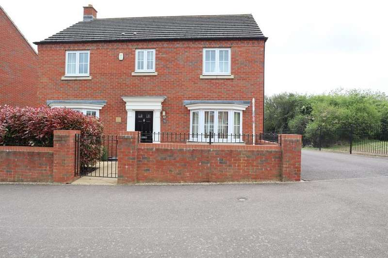 4 Bedrooms Detached House for sale in Ashmead Road, Bedford, MK41 7GA