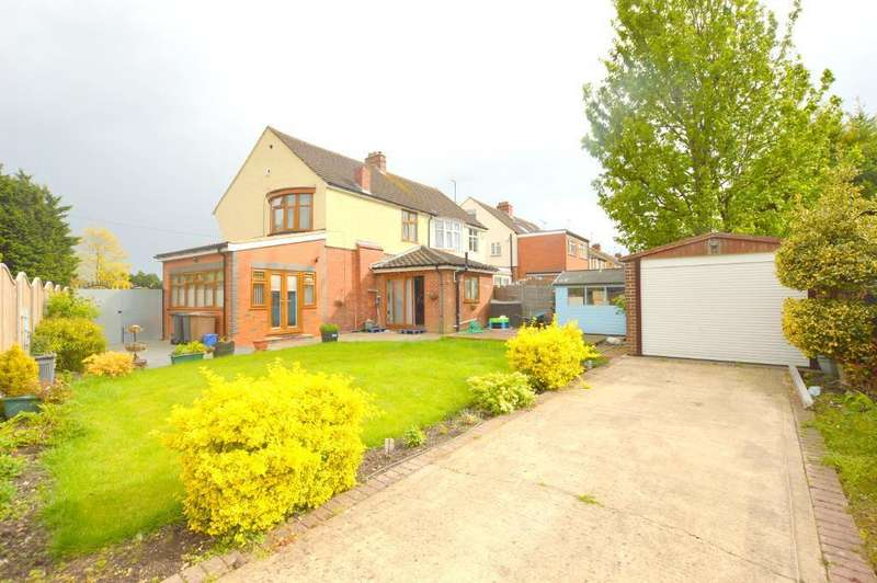3 Bedrooms Semi Detached House for sale in Reeves Avenue, Icknield, Luton, Bedfordshire, LU3 1UY