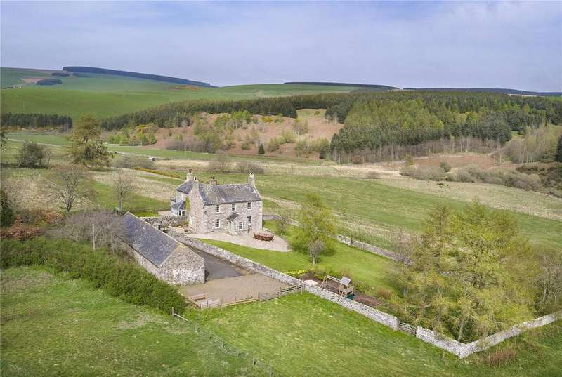 5 Bedrooms Unique Property for sale in The Old Manse, Cranshaws, Duns, Berwickshire, TD11
