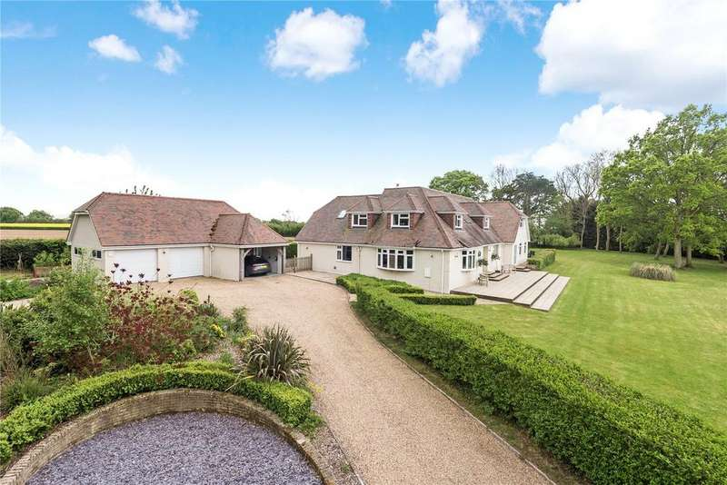 5 Bedrooms Detached House for sale in Upham Street, Upham, Southampton, Hampshire, SO32