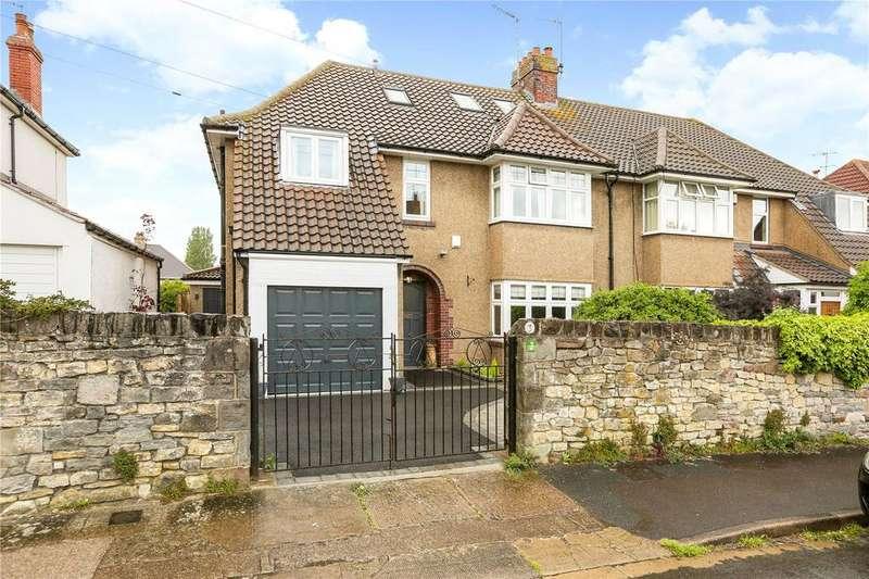 5 Bedrooms Semi Detached House for sale in Oakwood Road, Henleaze, Bristol, BS9