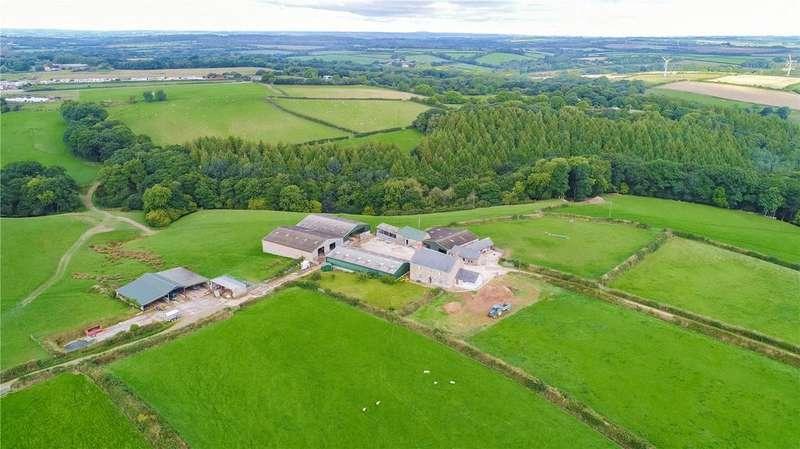 Farm Commercial for sale in Week House Farm - Whole, Winkleigh, Devon, EX19