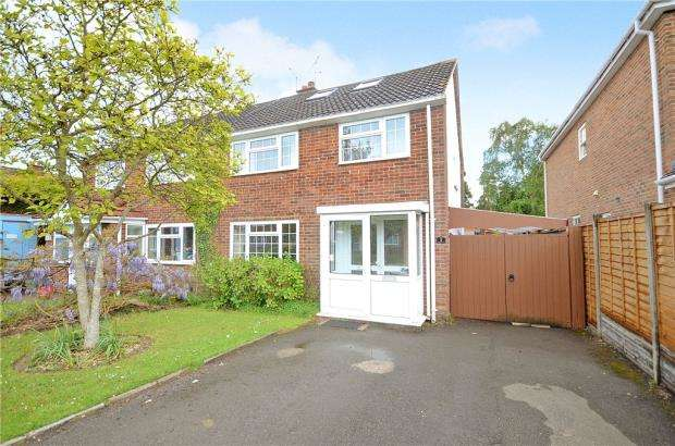 4 Bedrooms Semi Detached House for sale in Ashbrook Road, Old Windsor, Windsor