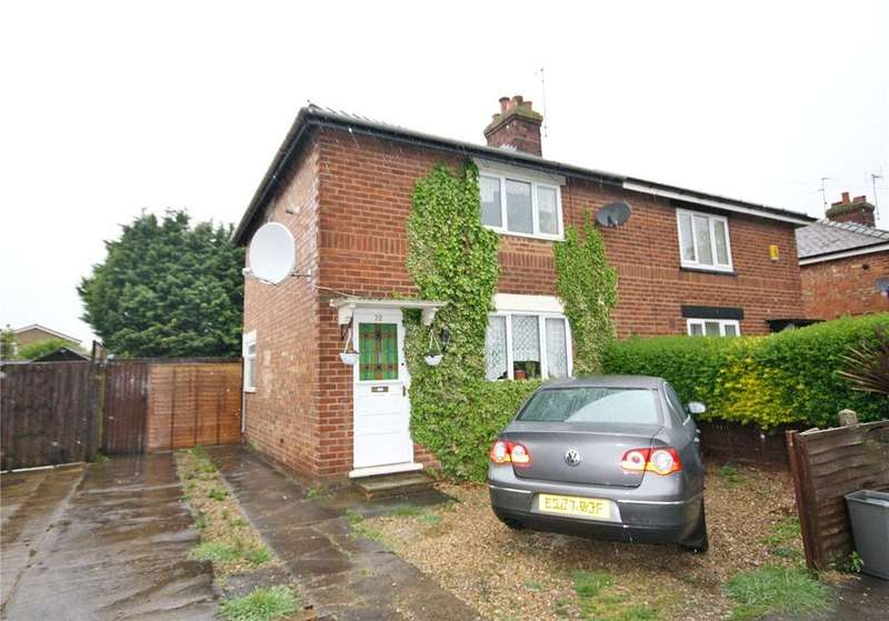 3 Bedrooms Semi Detached House for sale in Edward Road, Spalding, Lincolnshire, PE11