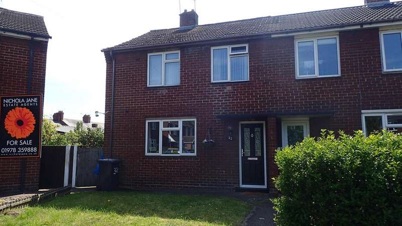 3 Bedrooms Semi Detached House for sale in Garden Road, Wrexham