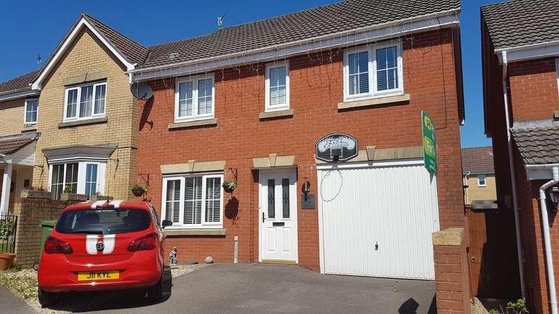 4 Bedrooms Detached House for sale in Pwll Yr Allt, Tir-Y-Berth, Hengoed