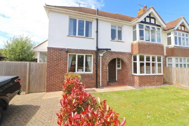 3 Bedrooms Semi Detached House for sale in Pevensey Park Road, Pevensey, BN24