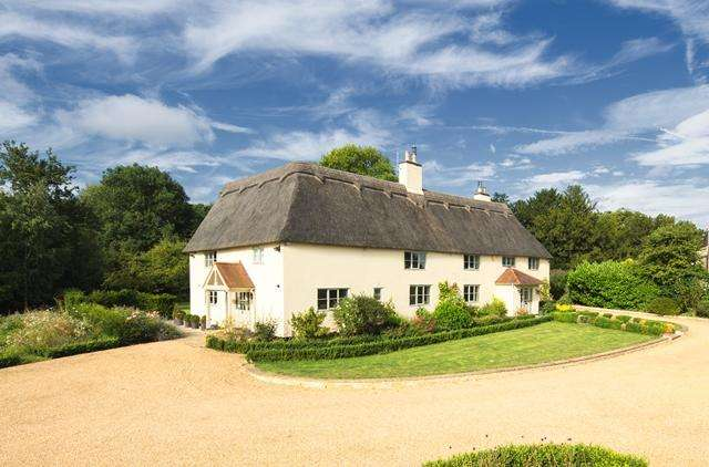 5 Bedrooms Detached House for sale in Thurning, PE8