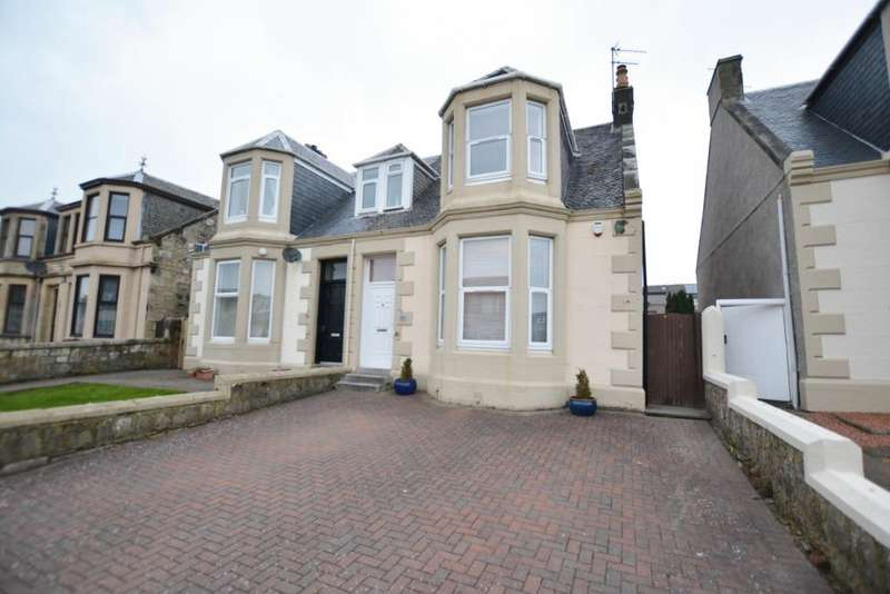 3 Bedrooms Semi Detached House for sale in Eglinton Road, Ardrossan, North Ayrshire, KA22 8NQ
