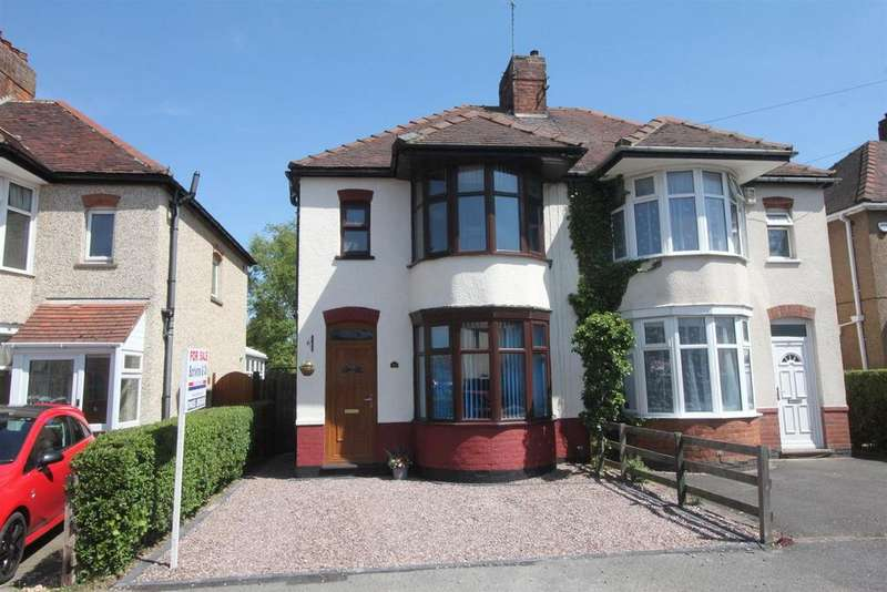 3 Bedrooms Semi Detached House for sale in Eskdale Road, Hinckley