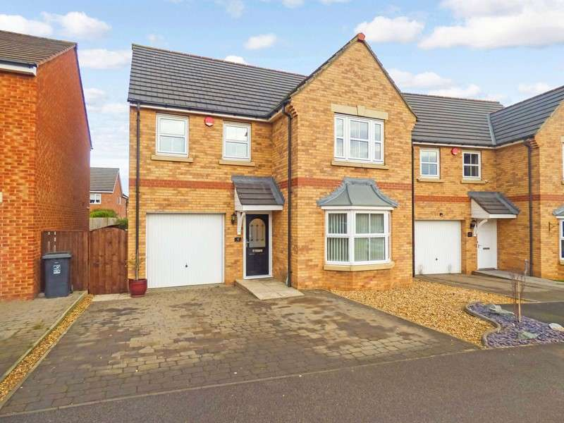 4 Bedrooms Property for sale in Thistle Close, Bishop Cuthbert, Hartlepool, Durham, TS26 0DG