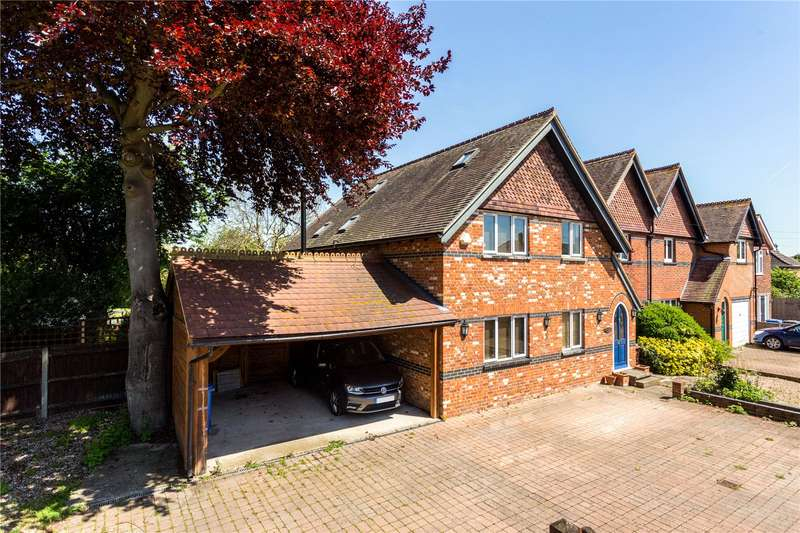 4 Bedrooms Semi Detached House for sale in Straight Road, Old Windsor, Windsor, Berkshire, SL4