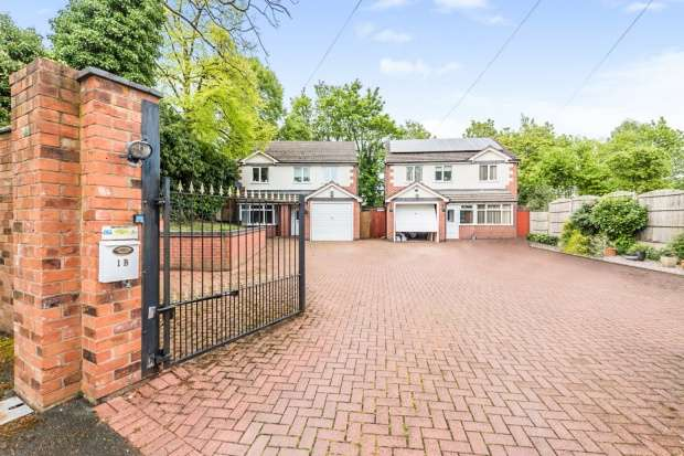 4 Bedrooms Detached House for sale in Sherbourne Drive, Birmingham, West Midlands, B27 6DY