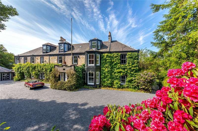 10 Bedrooms Detached House for sale in Flatfield House, Symington Road North, Symington, Ayrshire, KA1