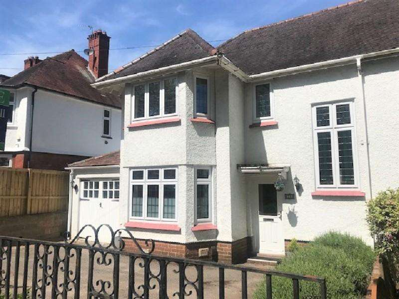 3 Bedrooms Semi Detached House for sale in Edward Vii Avenue, Newport. NP20 4NH