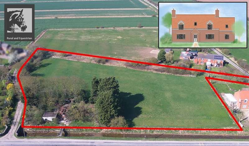 4 Bedrooms Land Commercial for sale in Building Plot and Paddock, Saltfleetby, near Louth
