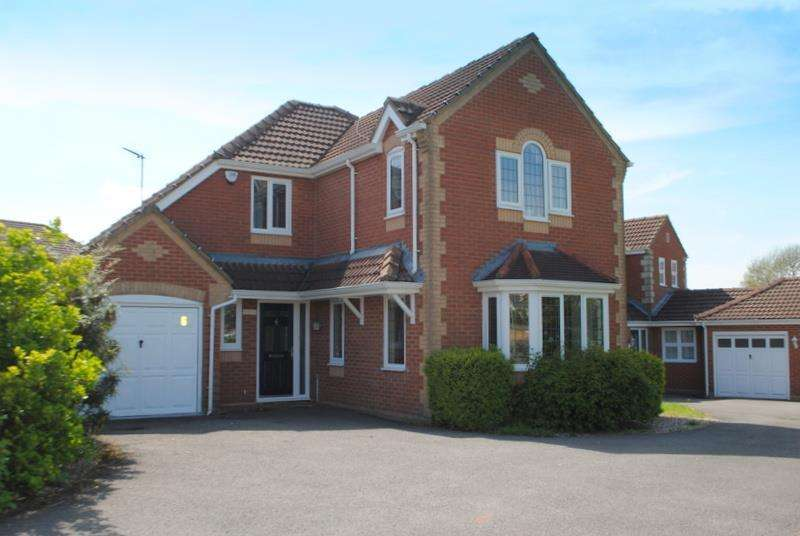 4 Bedrooms Detached House for sale in Countryman Way, Markfield