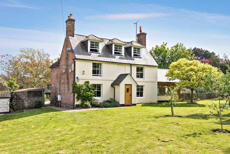 5 Bedrooms Detached House for sale in Stunts Green, Herstmonceux BN27