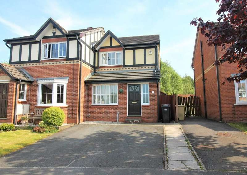 2 Bedrooms Semi Detached House for sale in Stonehaven, Bolton, BL3