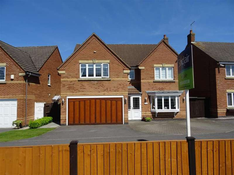 4 Bedrooms Detached House for sale in Chandlers Croft, Ibstock, Leicestershire