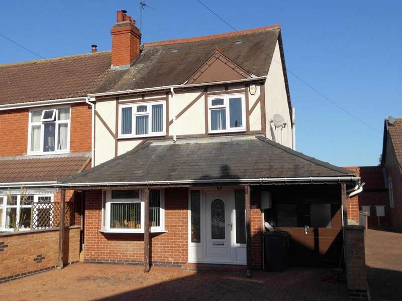 4 Bedrooms Semi Detached House for sale in Colby Road Thurmaston Leicester