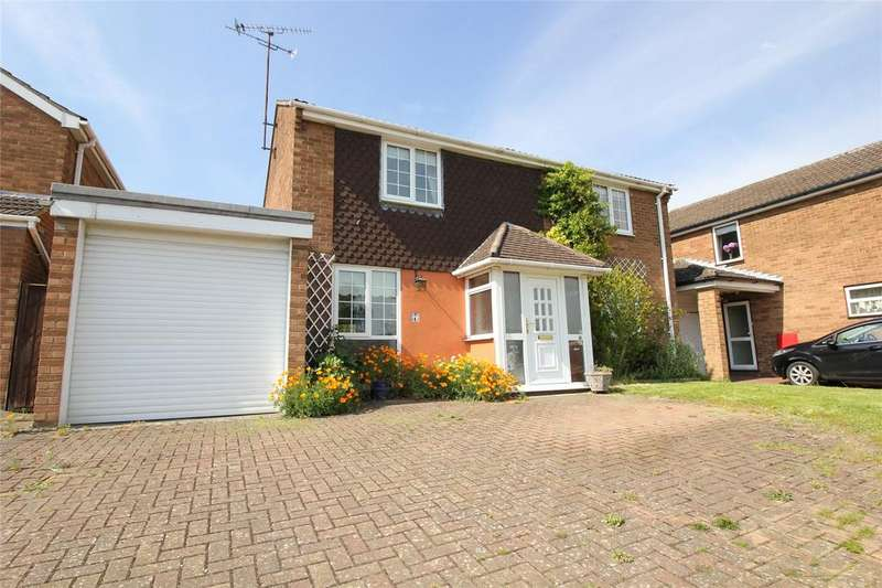 4 Bedrooms Detached House for sale in Tippings Lane, Woodley, Reading, Berkshire, RG5