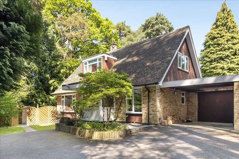 4 Bedrooms Detached House for sale in Heathermount Drive, Edgcumbe Park, Crowthorne