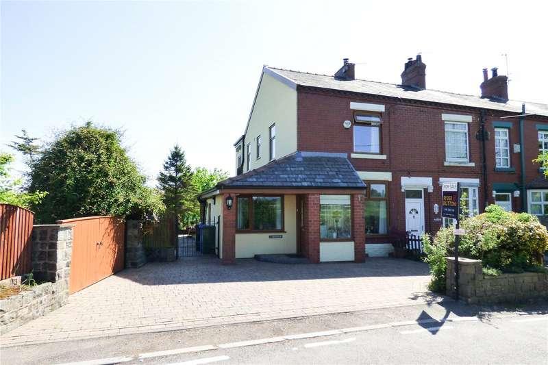 4 Bedrooms End Of Terrace House for sale in Belsfield Terrace, Alt Hill, Ashton-under-Lyne, Greater Manchester, OL6
