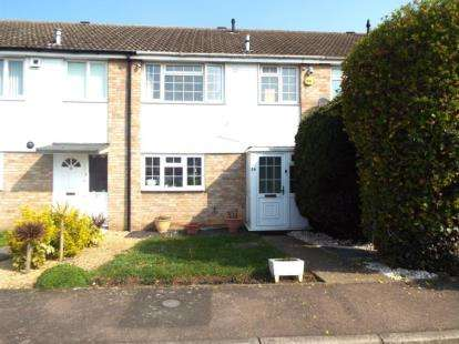 3 Bedrooms Terraced House for sale in Ballinghall Close, Bedford, Bedfordshire