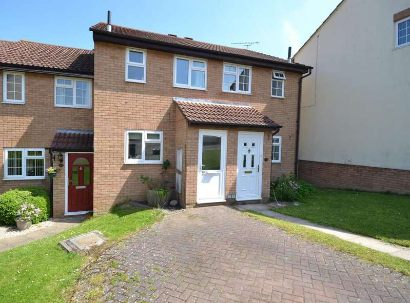 2 Bedrooms Terraced House for sale in Shutehay Drive, Cam, Dursley, GL11 5UU