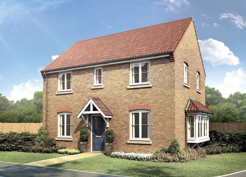 3 Bedrooms Detached House for sale in Wardentree Lane, Pinchbeck Fields, Spalding, PE11