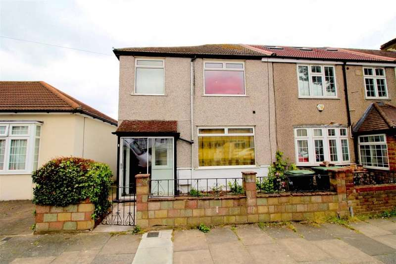 3 Bedrooms End Of Terrace House for sale in Chichester Road, Edmonton, N9