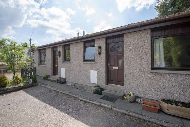 1 Bedroom Semi Detached Bungalow for sale in James Court, Kingussie, Inverness-shire, Highland, PH21 1PD