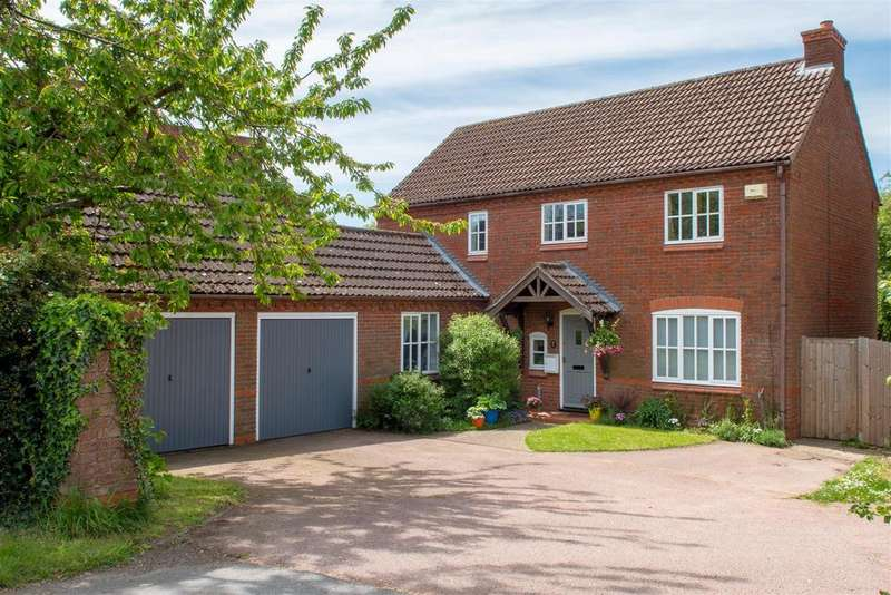 4 Bedrooms Detached House for sale in Main Street, Newton Burgoland