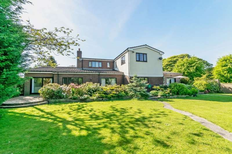 4 Bedrooms Detached House for sale in Delamere Road, Norley, Frodsham, WA6