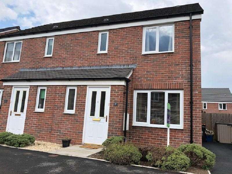 3 Bedrooms Semi Detached House for sale in Sir Briggs Avenue, Duffryn, Newport. NP10 8AU